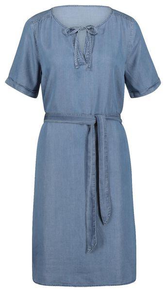 damesjurk blauw blauw - 1000019600 - HEMA