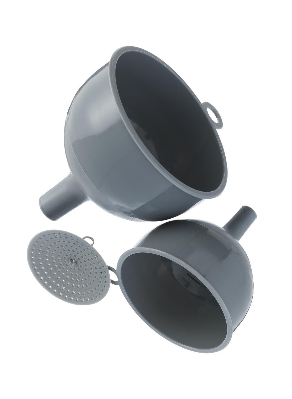 HEMA Trechters - 2 Stuks (grijs)