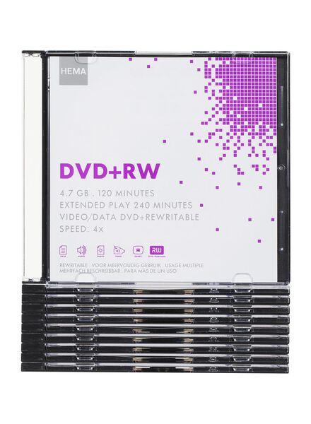 10-pak dvd-rw 4,7GB - 39529626 - HEMA
