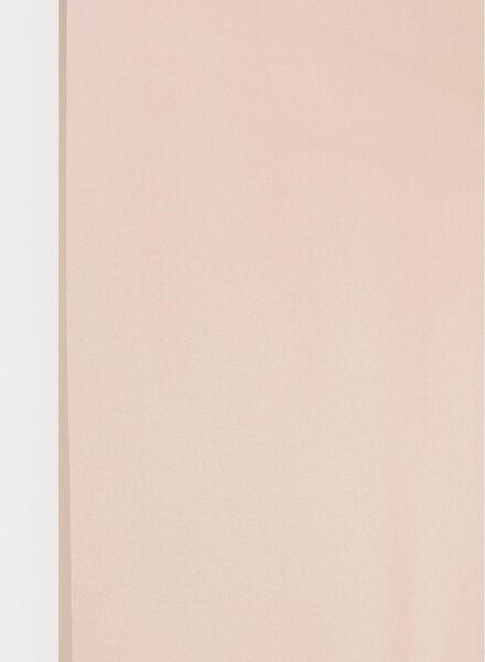 rolgordijn glanzend metallic lichtdoorlatend lichtroze glanzend metallic lichtdoorlatend - 7410385 - HEMA