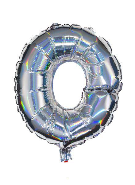 folieballon O - zilver O zilver - 60800446 - HEMA