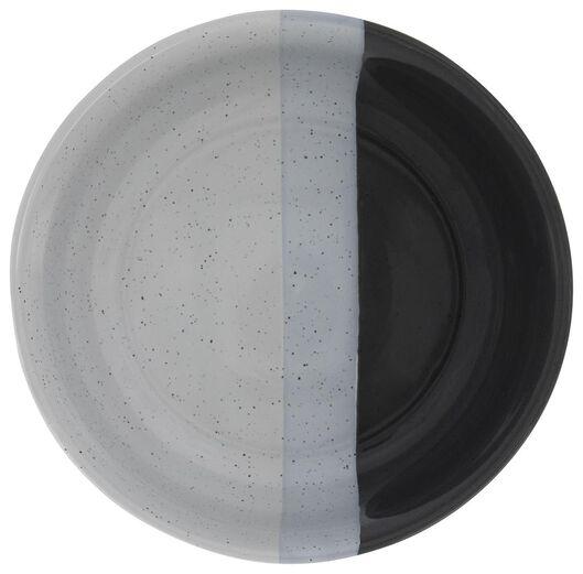 schaal - 16 cm - Cordoba - antraciet - 9602128 - HEMA
