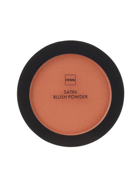 satin blush powder flirty coral - 11294705 - HEMA