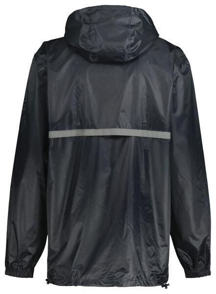 regenpak voor volwassenen blauw L - 34450103 - HEMA