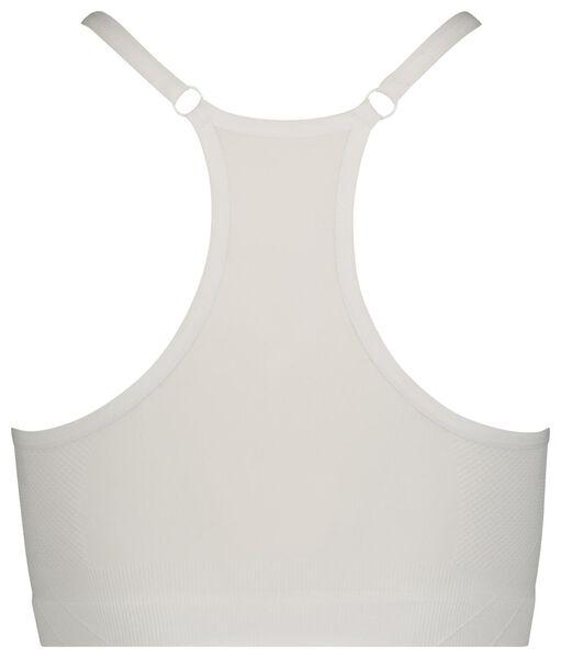 dames sporttop lichte sporten wit L - 21760094 - HEMA
