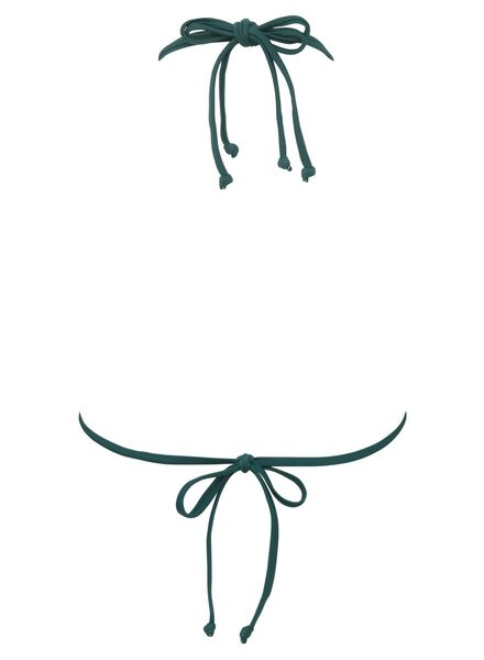 dames driehoek bikinitop padded groen - 1000011891 - HEMA