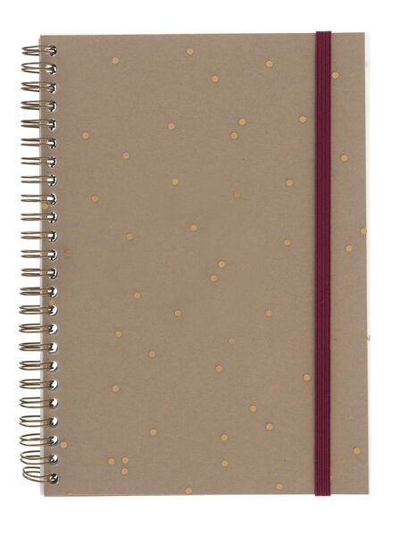 notitieboek A5 - 14161313 - HEMA