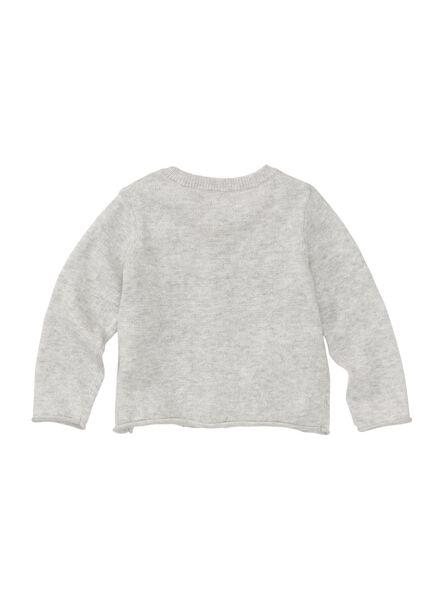 babyvest grijsmelange grijsmelange - 1000008130 - HEMA