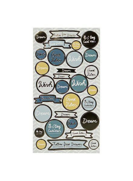 stickers - 3 stuks - 14501218 - HEMA