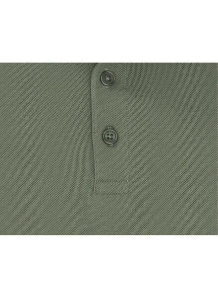 herenpolo groen groen - 1000009021 - HEMA
