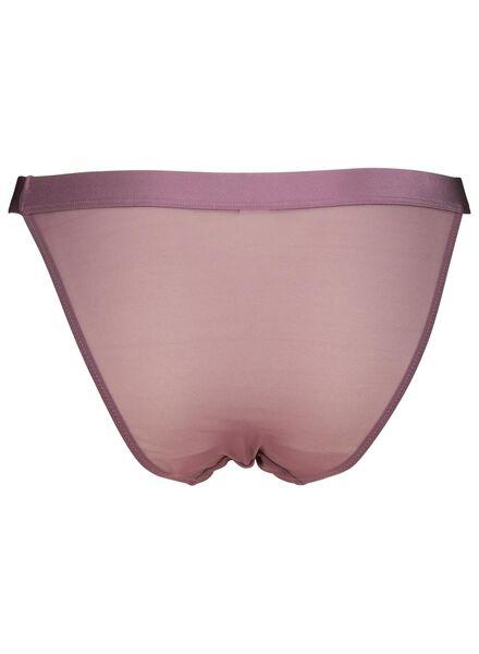 damesstring mesh paars paars - 1000014533 - HEMA