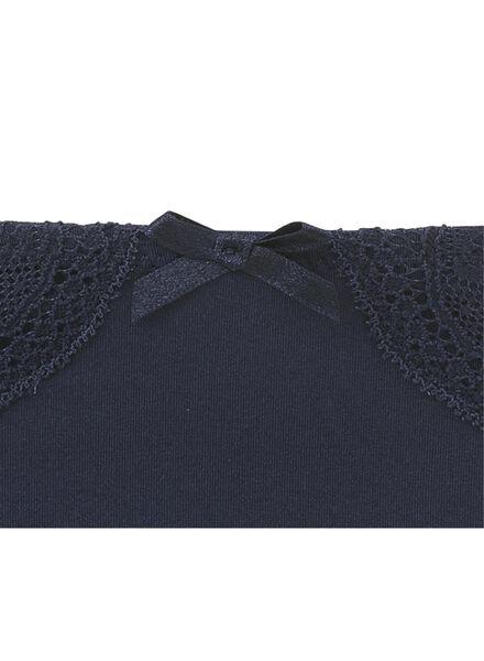 dameshipster donkerblauw donkerblauw - 1000006597 - HEMA