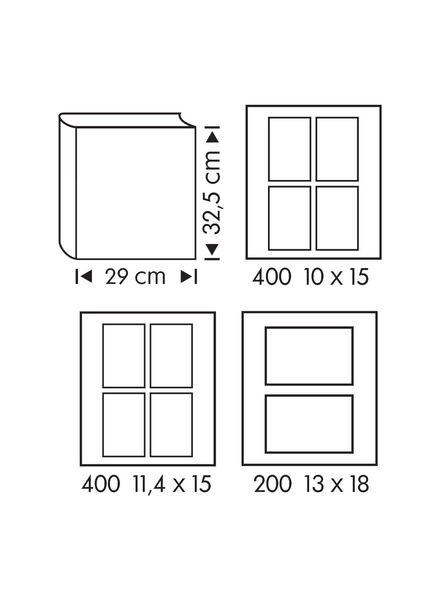 fotoalbum 32.5x29 egels - 14634346 - HEMA