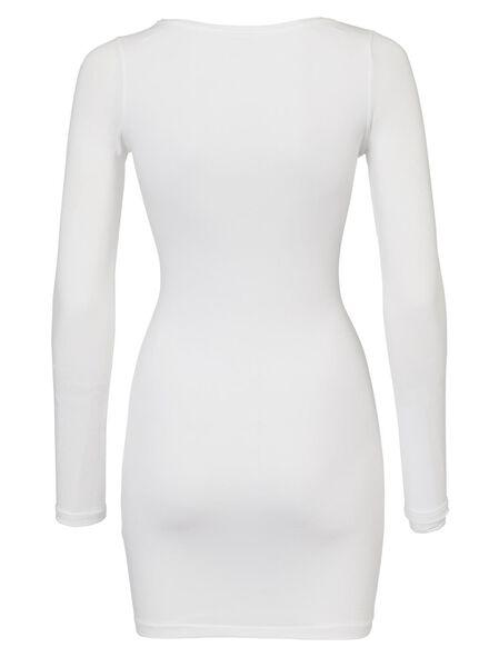 dames t-shirt wit wit - 1000005129 - HEMA