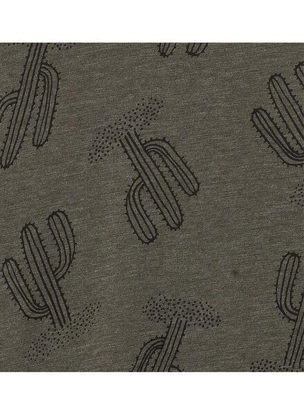 dames t-shirt groen groen - 1000003319 - HEMA