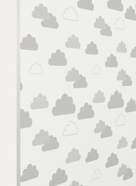 rolgordijn dessin verduisterend grijs grijs - 1000016232 - HEMA