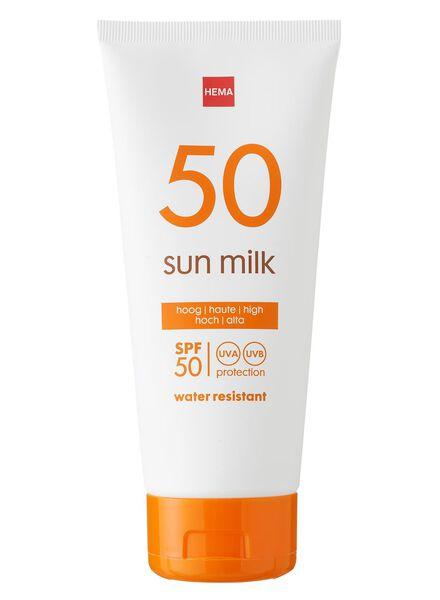 zonnemelk SPF 50 - 11610116 - HEMA