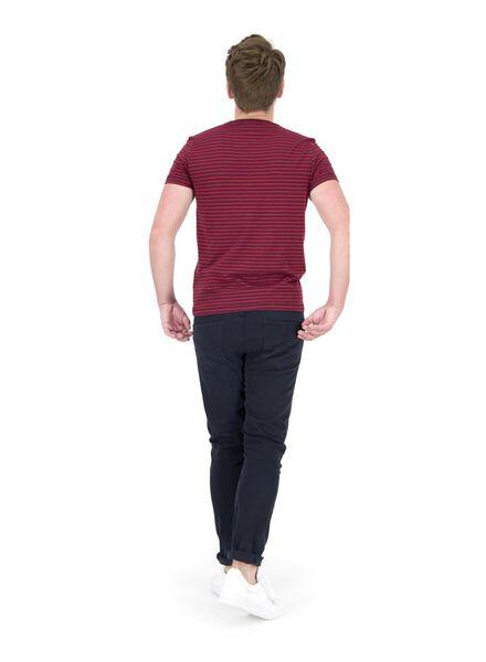 heren t-shirt rood rood - 1000014691 - HEMA