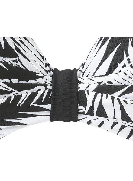damesbikinitop B-E zwart/wit zwart/wit - 1000006612 - HEMA