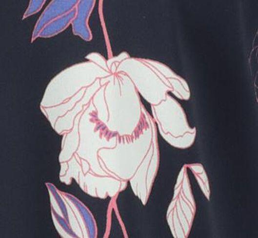 damesblouse donkerblauw XL - 36235430 - HEMA