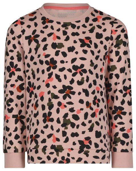 kindersweater roze 134/140 - 30817427 - HEMA