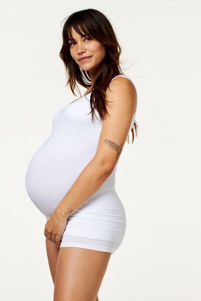 zwangerschapshemd wit wit - 1000009689 - HEMA