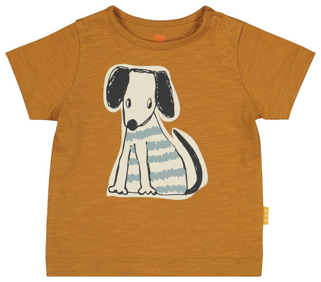 HEMA Newborn T-shirt Bruin (bruin)