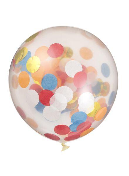 6-pak confetti ballonnen - 25200238 - HEMA