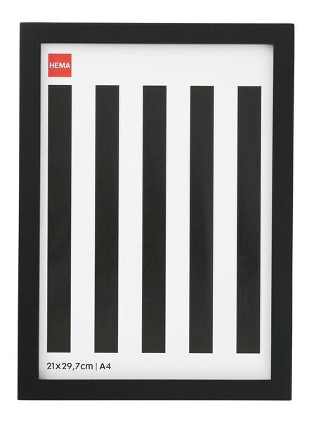 fotolijst 21 x 29.7 cm / A4 20 x 30 zwart - 13680023 - HEMA