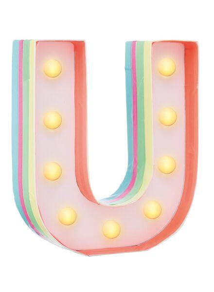 knutsel circusverlichting U - 60100323 - HEMA