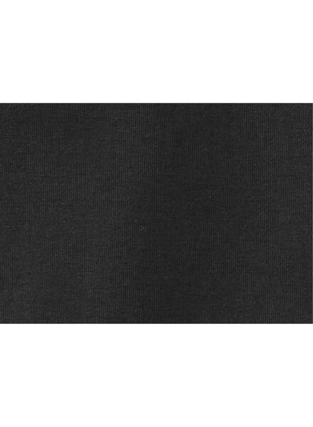 kinder t-shirt - biologisch katoen zwart zwart - 1000019373 - HEMA