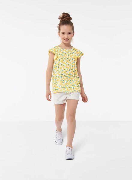 kinder skinny short wit wit - 1000012450 - HEMA