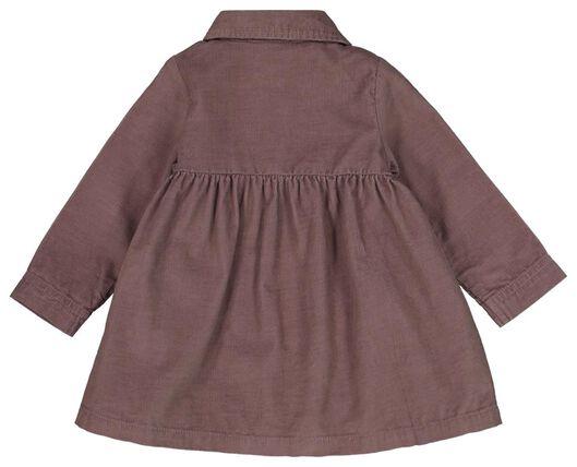 baby jurk rib lila lila - 1000021810 - HEMA