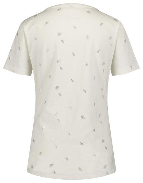 dames t-shirt wit wit - 1000019872 - HEMA