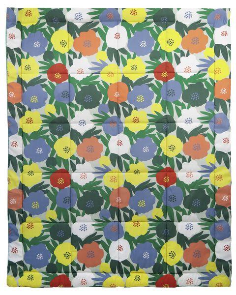 vakantieplaid 180x140 bloemen - 41820354 - HEMA