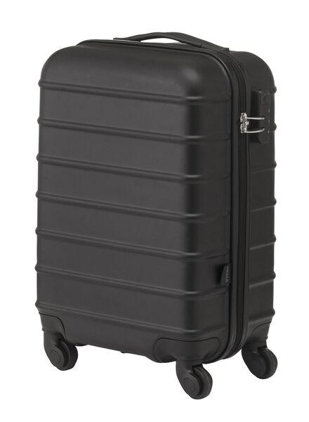 Koffer - 55 x 35 x 20 - zwart streep