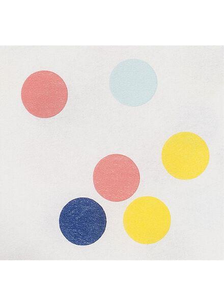 tafelkleed - 138 x 220 - papier - confetti - 14230063 - HEMA