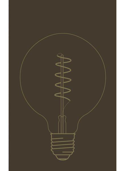 LED lamp 4W - 200 lm - globe - goud - 20020065 - HEMA