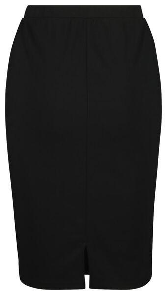 damesrok zwart zwart - 1000019218 - HEMA