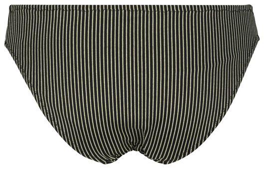 dames bikinibroekje - glitter zwart zwart - 1000023603 - HEMA