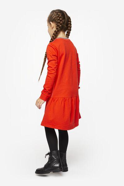 kinder sweatjurk rood rood - 1000020530 - HEMA