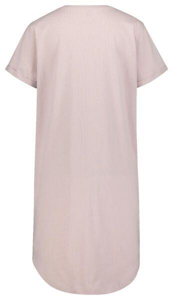damesnachthemd roze L - 23420583 - HEMA