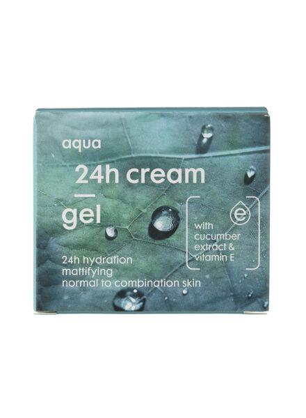 24 h gelcrème aqua - normale huid - 17870001 - HEMA