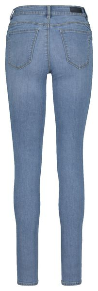 dames jeans - shaping skinny fit lichtblauw 46 - 36337545 - HEMA