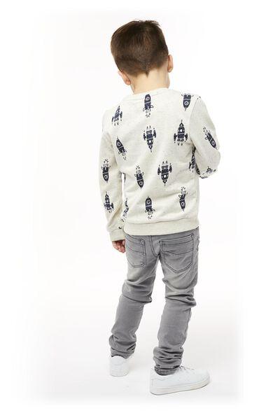 kindersweater gebroken wit gebroken wit - 1000017732 - HEMA