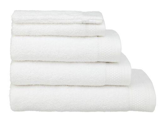 handdoeken - hotel extra zwaar wit wit - 1000015151 - HEMA