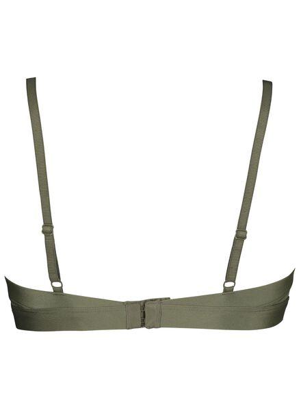 padded bh mesh groen groen - 1000014573 - HEMA