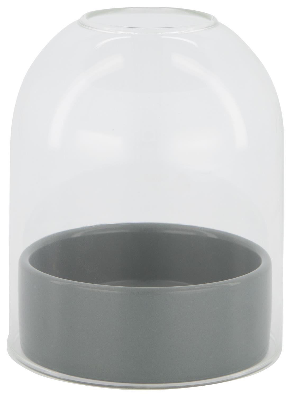 HEMA Vaas Met Stolp – 12.5 Cm – Groen Keramiek (groen)