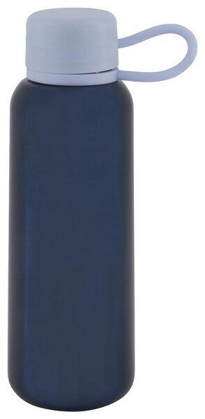 waterfles 300ml rvs blauw - 80640009 - HEMA