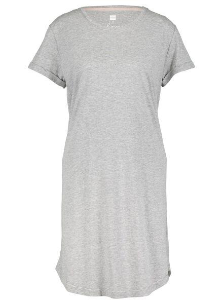 dames nachthemd middengrijs middengrijs - 1000015500 - HEMA
